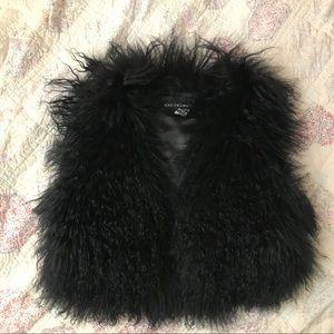 Adrienne Landau Mongolian Lamb Vest